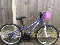 Girls Apolo 12 inch bike for sale
