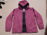 Large Girls Roxy Ski Coat for age 16 or Lady size 8-small 10