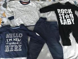 C Rock star baby 12-18 months bundle