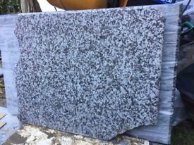 GRANITE SLAB 800 x 700 x 30mm POLISHED TOP + 2 SIDES