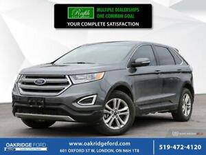 2017 Ford Edge 4DR SEL AWD- NAVIGATION - MOONROOF- LEATHER- BACK
