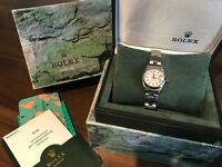 Women's Rolex oyster perpetual watch