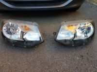 Vw Transporter headlight units