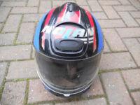 NOLAN N27 MOTOR CYCLE HELMET--58cms I THINK
