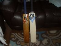 2 vintage cricket bats