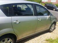 Toyota Verso 1.8 VVTI Petrol Silver