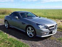Mercedes-Benz SLK 2.1 SLK250 CDI BLUE EFFICIENCY AMG Sport 7G-Tronic 2dr Cabriolet 2013 (13 Reg)