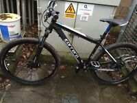 2015 carrera vengeance mountain bike hardtail with lots of upgrades
