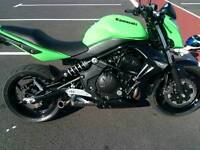 2012 Kawasaki ER6N swap px anything considered plus my cash ?
