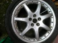 Jaguar bbs 18inch alloys