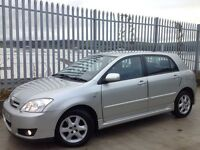 2006 TOYOTA COROLLA 1.4 VVT-I COLOUR COLLECTION 5 DOORS HATCH BACK MANUAL SILVER