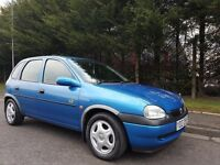 1998 Vauxhall Corsa HI-TORQ 5Door 1.4 Petrol Only 28,000 Genuine Miles Totally Original Thoughout !