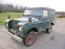 Land Rover Series 2A Fitted with 2.5 D. March 2018 MOT ~ Free Road Tax ~ Sound Chassis / Bulkhead.