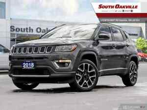 2018 Jeep Compass Limited | DUAL SUNROOF | HEATED LEATHER | NAV