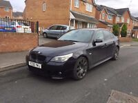 Stunning looking bmw 530d m sports automatic carbon black huge specification.