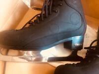 Men/ boys Risport ice dance boots with coronation parabolic blades