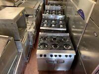 GAS 6 BURNER COOKER UNDER OVEN CATERING COMMERCIAL FAST FOOD RESTAURANT