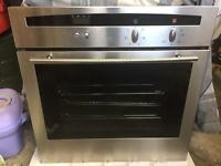 Neff stainless oven grill