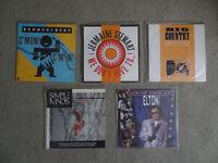 80's 12 inch vinyl singles - Simple Minds, Bronski Beat, Jermaine Stewart, Big Country, Elton John