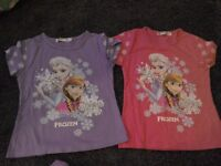 Girls disney frozen 7/8 clothes