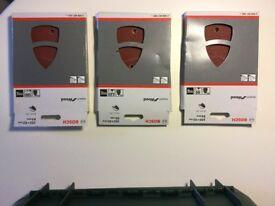 3 packs of 10 sandpaper's for Bosch PSM 18 LI