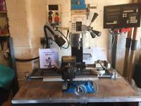Amadeal AMA25 LV Milling Machine and extras