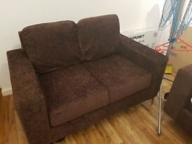 Nearly new 2 and 3 seater sofas