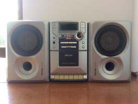Philips MC-110 Micro System & Speakers