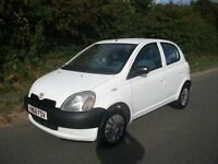 998cc TOYOTA YARIS GS 5 DOOR MOT OCTOBER 2017