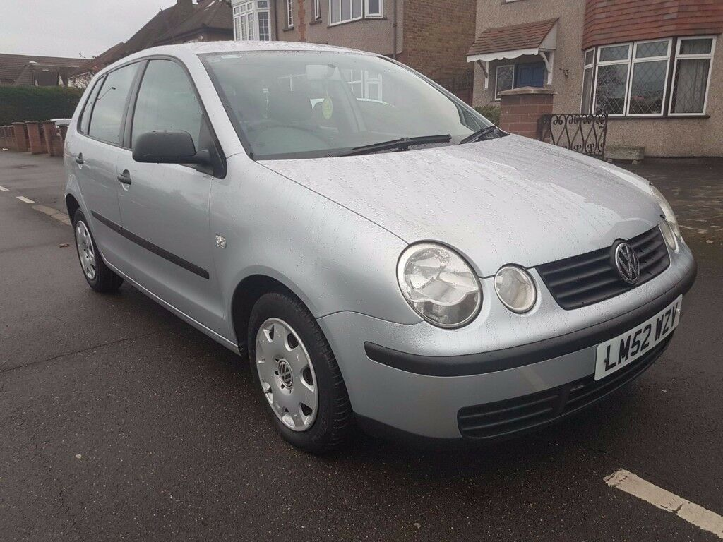 54k miles 2003 vw polo 1 2 l manual 5 doors volkswagen not 1 4 auto mk3 mk4 mk5 golf honda clio. Black Bedroom Furniture Sets. Home Design Ideas