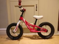 Specialized Hotwalk Balance Bike - Red & White