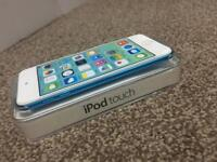 iPod touch blue 5th gen boxed packed £75 BARGIN