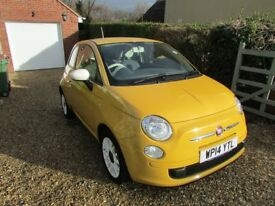 Fiat 500 Colour Therapy 1.2 Petrol Perfect First Car Start/Stop