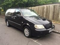 KIA SEDONA 2.9 CRDI AUTOMATIC 03 PLATE LONG MOT VERY GOOD CONDITION LOW MILES £700