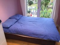 Double bed - divan (mattress included)