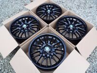 Genuine BMW MV1 18inch Staggered alloys. Mint Condition.