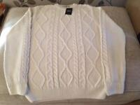 Next Aran style jumper brand new with tag