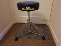 Pearl Roadster D1000 Drum Throne - Immaculate Condition -