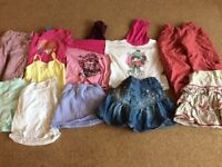 3-4 years girls clothing bundle