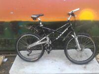 Marin Rift Zone full suspension mountain bike Aluminium frame large Down Hill