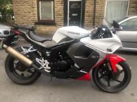 Hyosung GT125 RC 2015 model, 125cc Learner Legal V Twin, Fully serviced, 12 Month MOT.