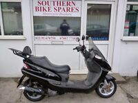 2003 Sym Joyride 125 Black 32,708km (20,323 miles) 125cc 4-stroke Automatic Twist & Go Scooter 4T