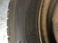 Part worn tyre 185/65 R14