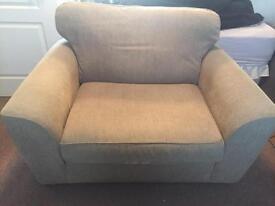 Large single sofa