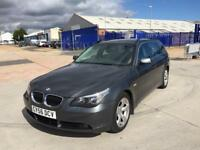 2007 BMW 5 SERIES 2.5 DIESEL TOURING ESTATE AUTOMATIC 12 BMW STAMPS