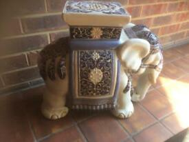 Beautiful China Elephant Indoor or Outdoor Showpiece