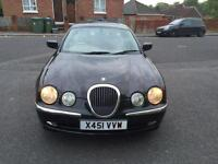 Jaguar S-Type 4.0 V8 4dr £300 SPARE OR REPAIR CHEAP CAR MAY BE AN EASY FIX, PART EX CAR TO CLEAR