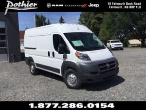 2017 Ram ProMaster 2500 High Roof  | CLOTH | REAR CAMERA | HEATE