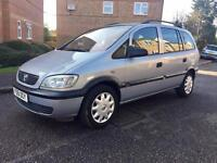 "2002 Vauxhall Zafira 1.6 MPV 7 Seater ""Cambelt Service Completed"""