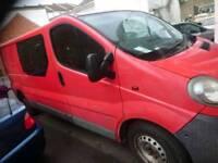 Vauxhall vivaro 1.9 6 seater camper